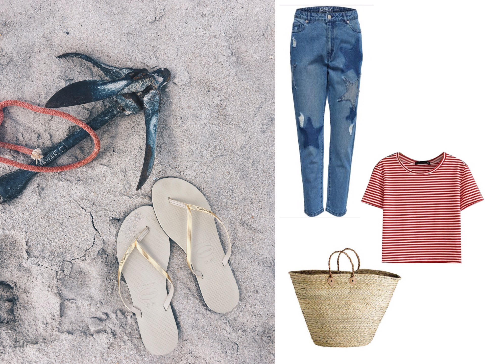havaianas fifteenminfame outfit summer beach look